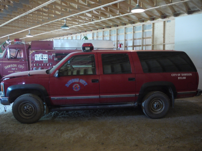 1989 GMC Fire Chief's Truck