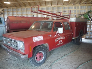 1973 GMC Hose, Ladder and Rescue Truck