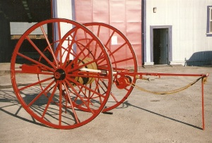 1899 Hose Reel Wagon